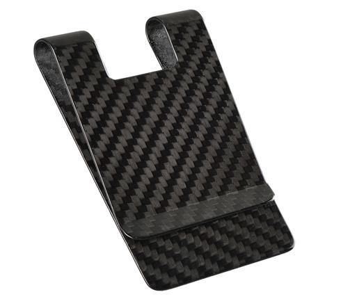 glossy-black-carbon-fiber-money-clip-front