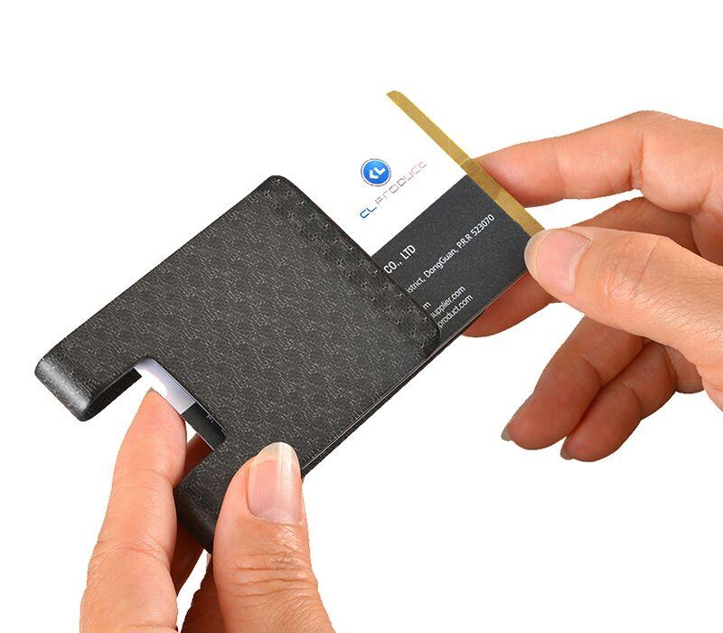 matt_pattern_carbon_fiber_money_clip_hands_push_cards_easily