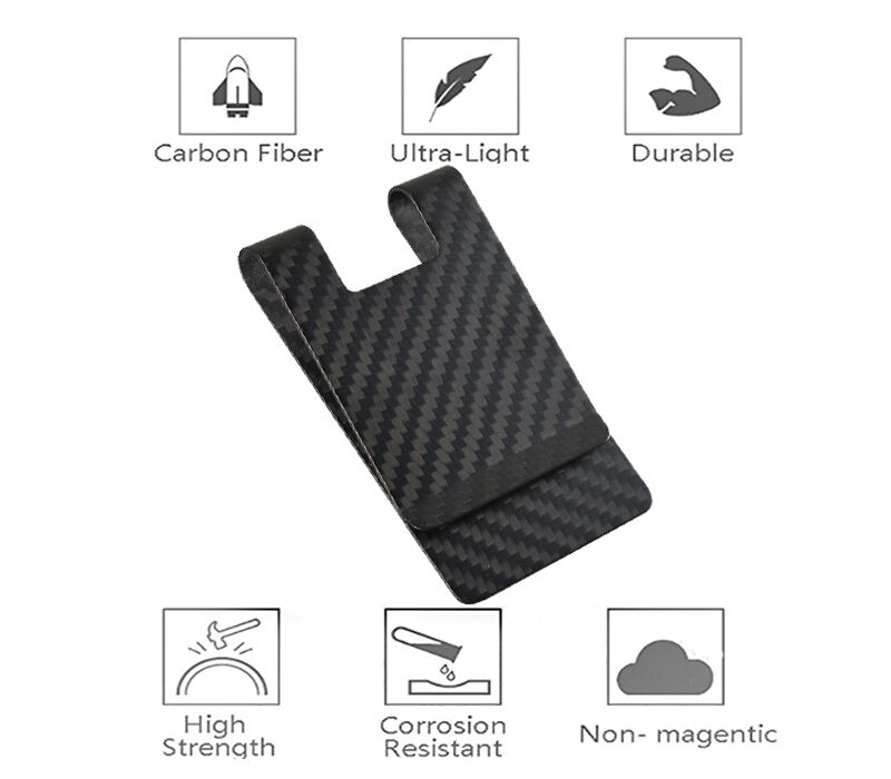 matt-black-carbon-money-clip-features