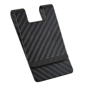 matt-black-carbon-money-clip-with-slot